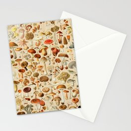 Vintage Mushroom Designs Collection Stationery Cards