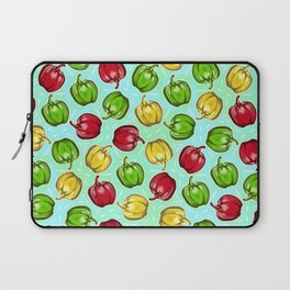 Bell Peppers Pattern Laptop Sleeve