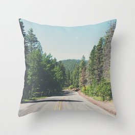 Santa Fe National Forest ... Throw Pillow