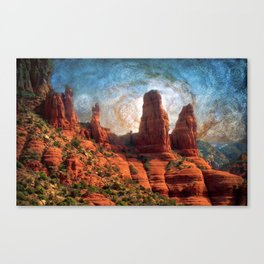 Van Goghs Sedona Vortex Canvas Print