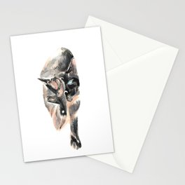 Siamese will cut you. Stationery Cards