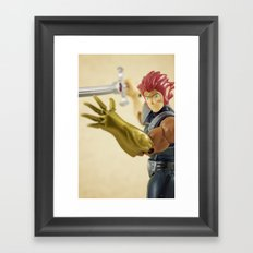 Lion-O Framed Art Print