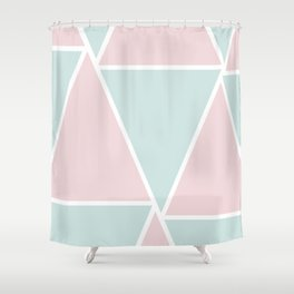 Sweet Triangles Shower Curtain