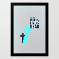 Night Of The Living Dead Art Print