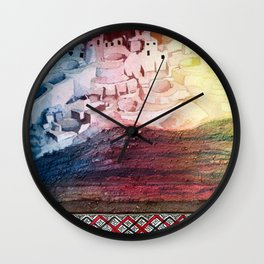 Inquisitive Playground 2 Wall Clock