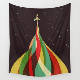Kaleidoscope to the Stars Wall Tapestry