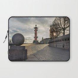 Rostral column in Saint Petersburg Laptop Sleeve