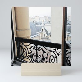 View Out My Parisian Window Mini Art Print