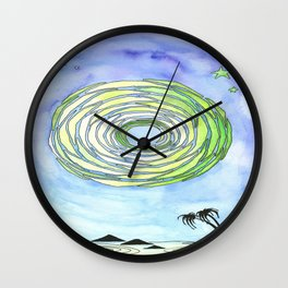Sunburst Collection Wall Clock
