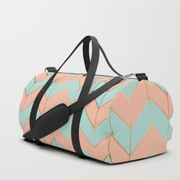 Marble Geometry 059 Duffle Bag