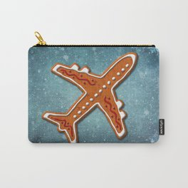 Gingerbread Airliner Carry-All Pouch