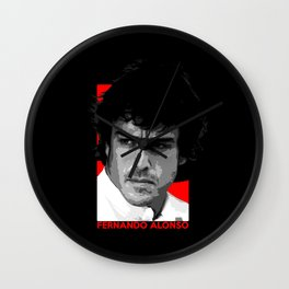 Formula One - Fernando Alonso Wall Clock
