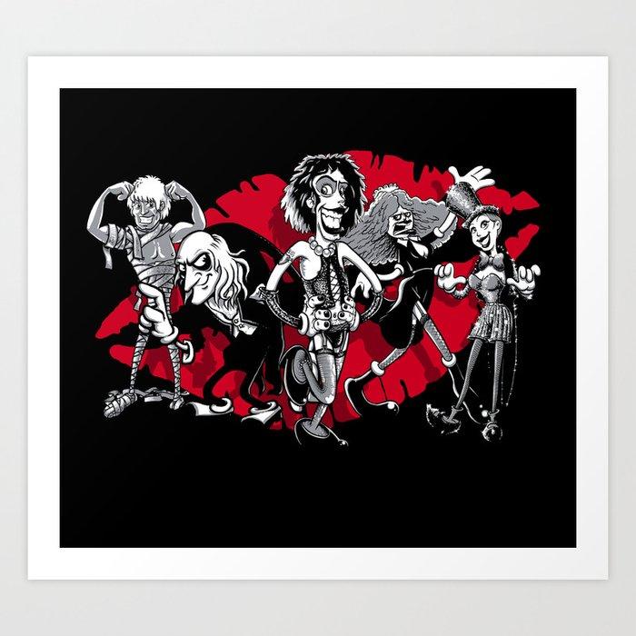 RHPS gang of five Art Print