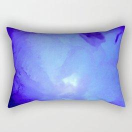 Textures (Blue version) Rectangular Pillow