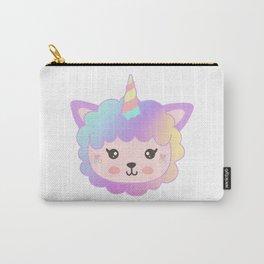 Llamacorn Rainbow Carry-All Pouch