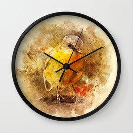 Little Songbird Wall Clock