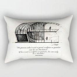 Booth Rectangular Pillow