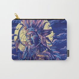 native american portrait 2 Carry-All Pouch