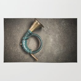 French Horn Rug