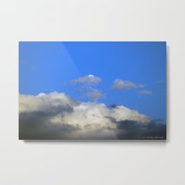Behind the Cloud Metal Print