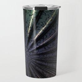 3D Metal Abstraction Travel Mug