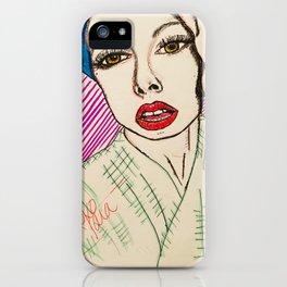 self portrait (Tara Savelo) iPhone Case