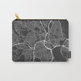 Providence Map, USA - Gray Carry-All Pouch