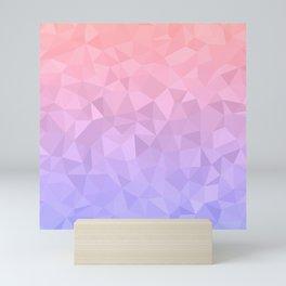 Pastel Ombre Mini Art Print