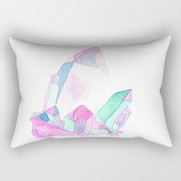 aura quartz Rectangular Pillow