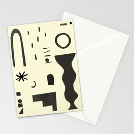 Abstract-d Stationery Cards