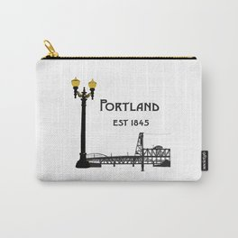 Historic Portland, Oregon by Seasons K Designs Carry-All Pouch