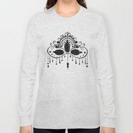 Bead Drop Mask Long Sleeve T-shirt
