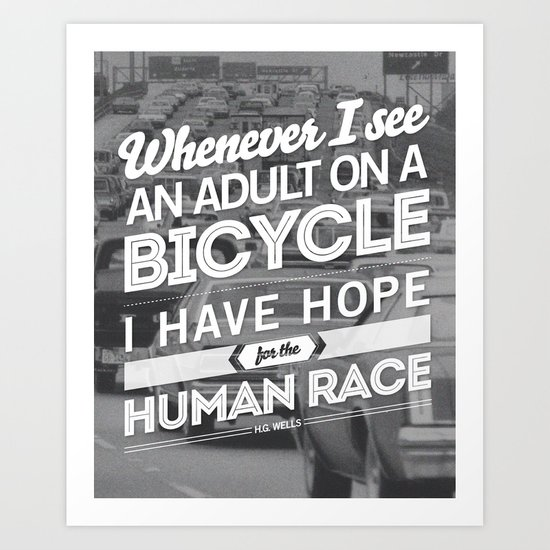 Hope For The Human Race Art Print