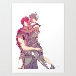 kagakuro kiss Art Print