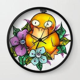 Psyduck being PsyCute Wall Clock