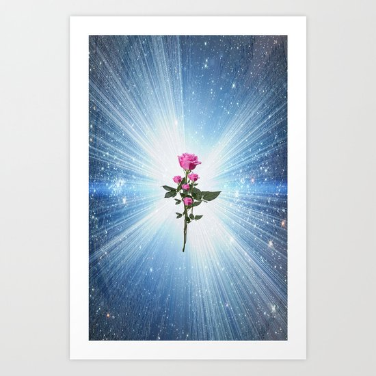 ROSES JUST FOR YOU Art Print