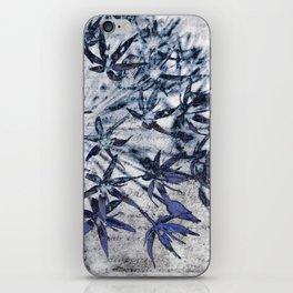 blue stars iPhone Skin