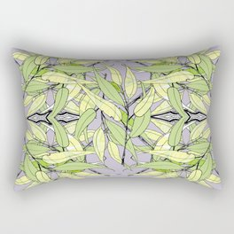 Blue Gum Forest Floor Rectangular Pillow