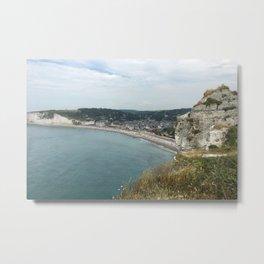 Etretat, France - Coast Metal Print