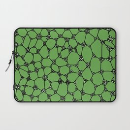 Yzor pattern 006-4 kitai green Laptop Sleeve