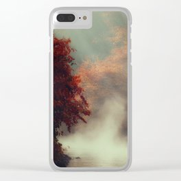 Breathing River Clear iPhone Case