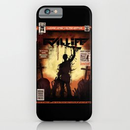 Evil LIfe iPhone Case