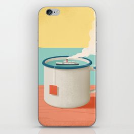 Cup of sea iPhone Skin
