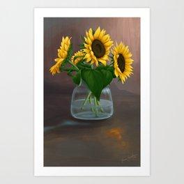 Happy Birthday, Vincent! Art Print
