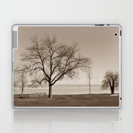 Lakeside Winter - Sepia Laptop & iPad Skin
