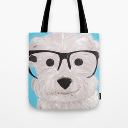 Happy Puppy Tote Bag