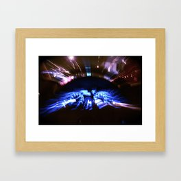 Flash Dash Framed Art Print