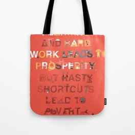 Good planning Tote Bag