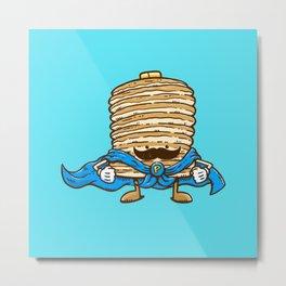 Captain Pancake's Mustache Metal Print