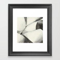 Ribbon - Pen & Ink Illustration Framed Art Print